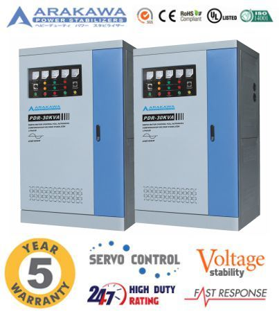 Jual Stabilizer 30 Kva Automatic Pdr Full Automatic
