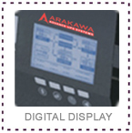 Arakawa UPS digital display