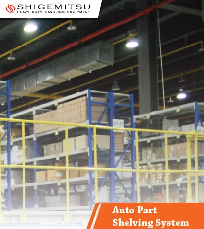 jual Auto Part Shelving System