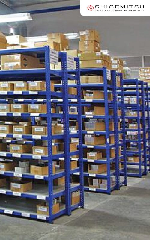 Auto Part Shelving Racking System