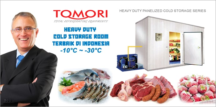 Tomori Cold Storage Banner