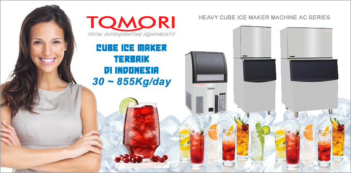 Tomori Cube Ice Machine Banner