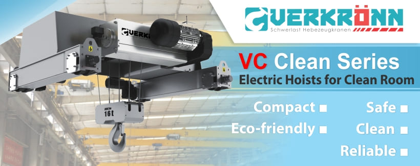Banner Parent Product Verkronn Hoist Crane VC Clean Series