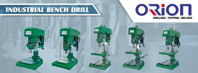 Banner Parrent Product Industrial Bench Drill