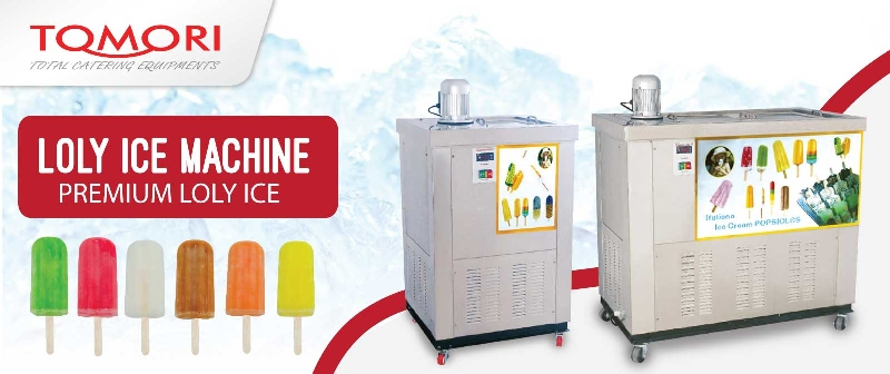 Tomori Lolly Ice Machine Banner