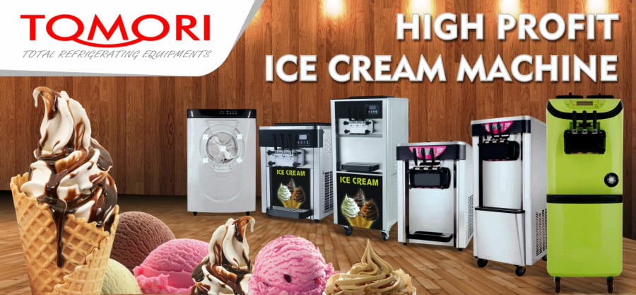 Banner Tomori Ice Cream Machine