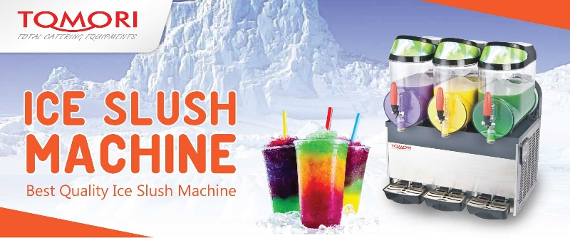 Tomori Ice Slush Machine Banner