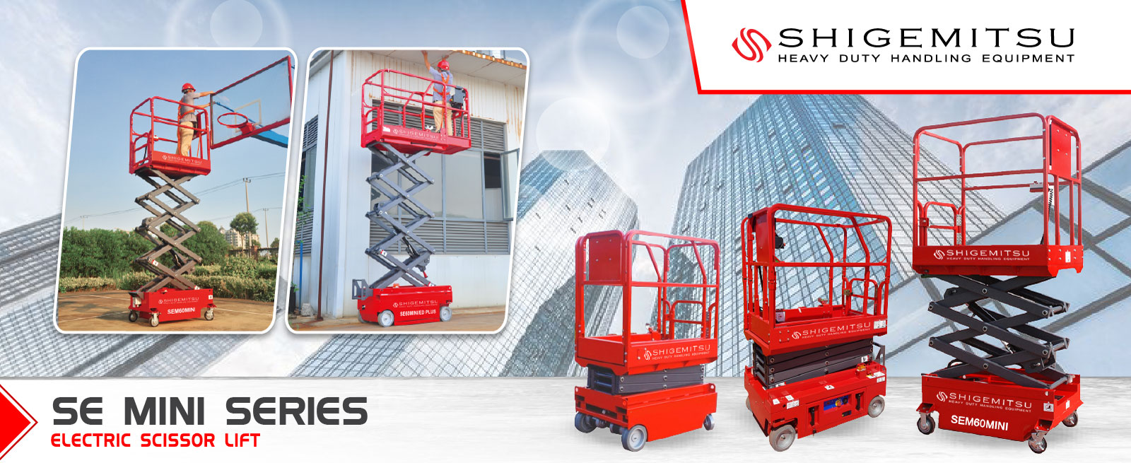 Banner electric Scissor lift
