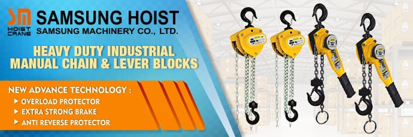 Banner Parent Product Samsung Chain Hoist Crane