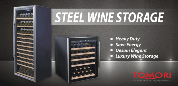 Banner Steel Wine Storage
