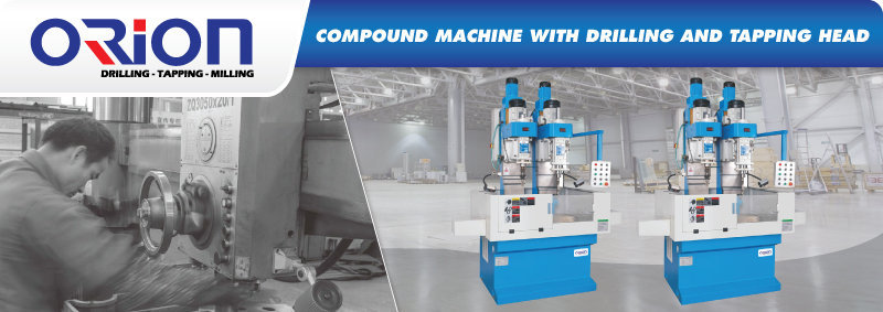 Jual Compound Machine With Drilling And Tapping Head Murah