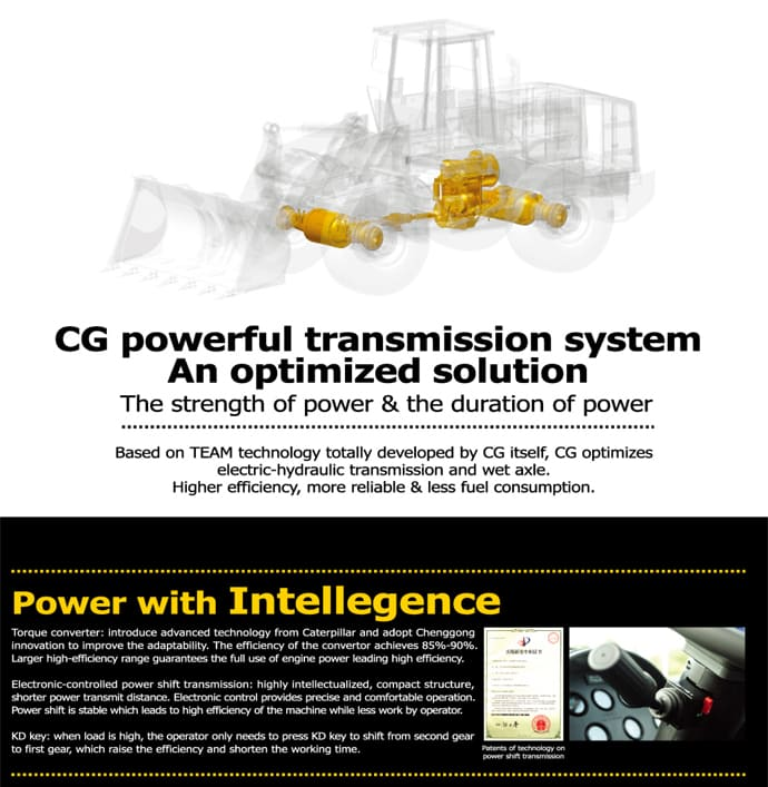 CG Wheel Loader Technology