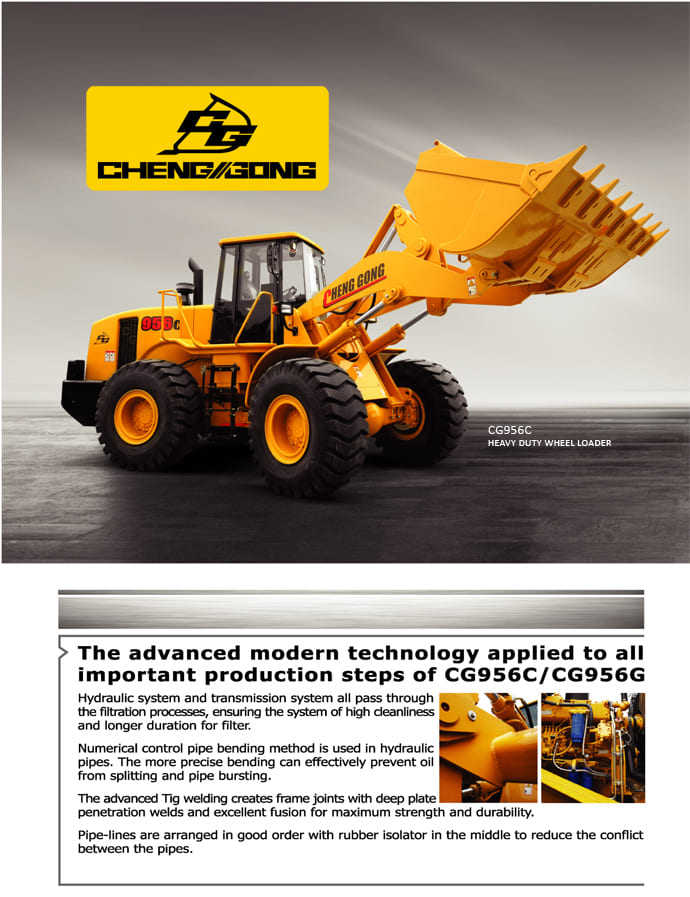 CG Wheel Loader CG956C Spec