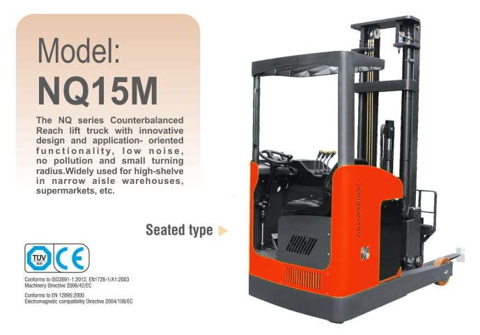 Electric Reach Truck NQ15M