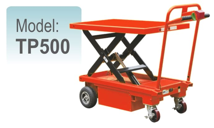 Jual Electric Table Truck TP500
