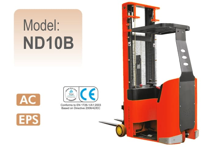 Narrow Aisle Forklift Truck ND10B
