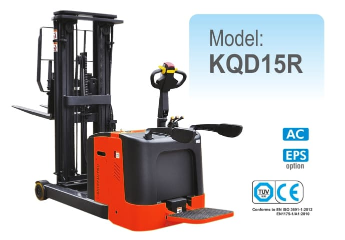 Counterbalanced Electric Reach Stacker KQD15R