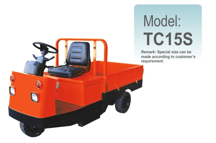 Electric Platform Truck TC15S
