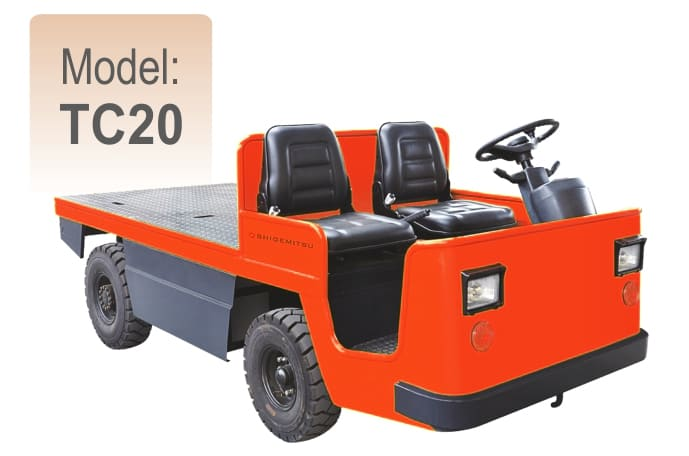 Electric Platform Truck TC20