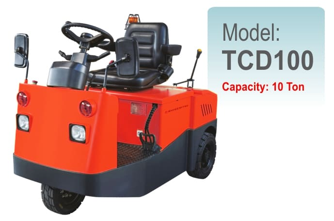 Electric Tow Tractor TCD100