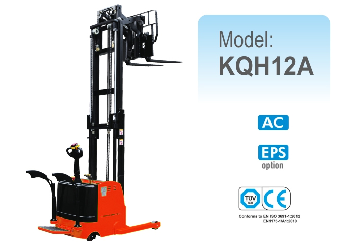 Electric Reach Stacker KQH12A