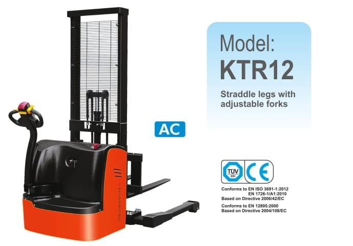 Electric Straddle Stacker KTR12