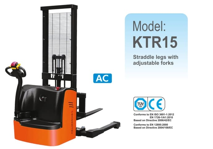Electric Straddle Stacker KTR15