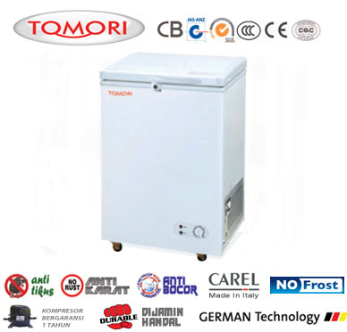 Tomori Solid Door Chest Freezer SD108