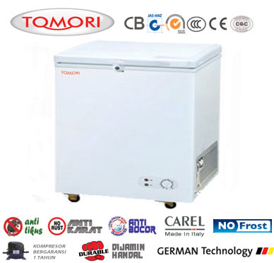 jual chest freezer