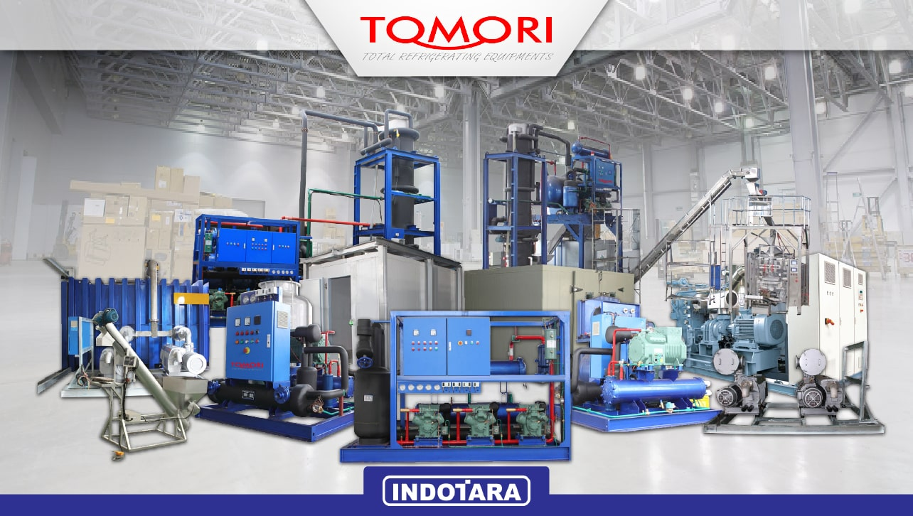 Tomori Ice Factory Industrial Machine