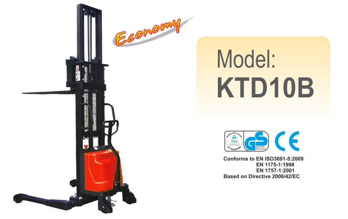 Semi-Electric Stacker KTD10B