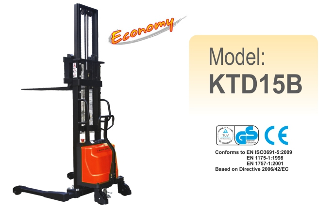 Semi-Electric Stacker KTD15B