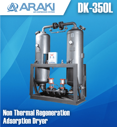 jual kompresor araki desiccant air dryer