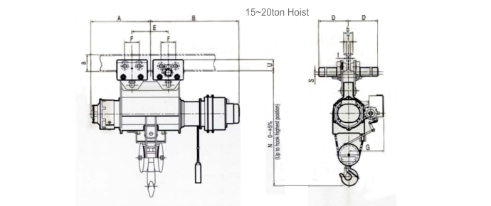Dimension LGM Hoist