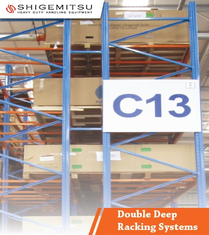 jual Double Deep Racking Systems
