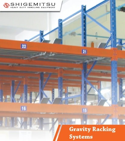 jual Gravity Racking Systems