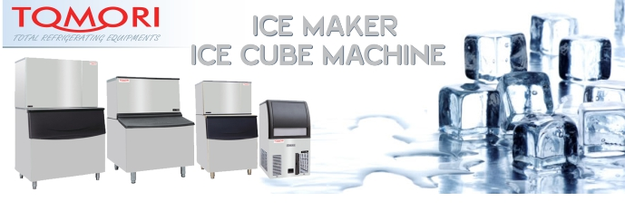 MESIN PEMBUAT ES | ICE MAKER TOMORI