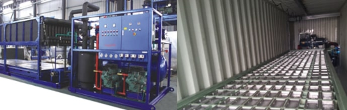 Ice Tube Machine Produksi es skala industri