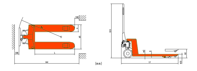 Multi-function Hand Pallet Truck