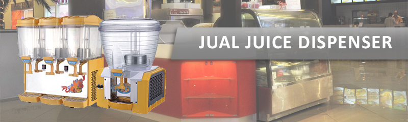 JUAL JUICE DISPENSER