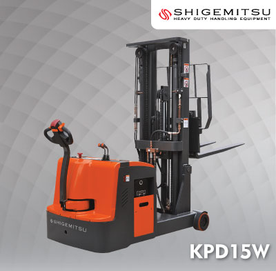 Counterbalanced Electric Stacker KPD15W