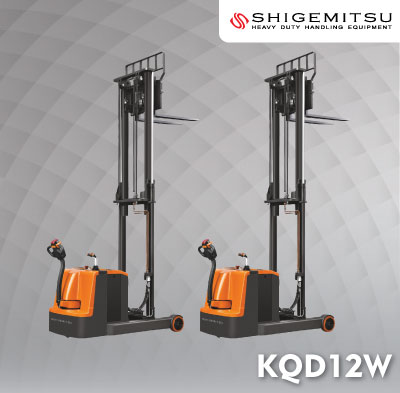 Counterbalanced Electric Reach Stacker KQD12W