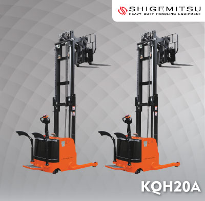 Electric Reach Stacker KQH20A