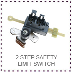 LGM 2 step limit switch