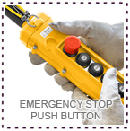 LGM Hoist Emergency Stop Push Button