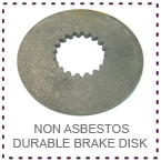 LGM Hoist Non Asbestos Durable Brake Disk