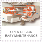 LGM Hoist Open Design Easy to Maintenance