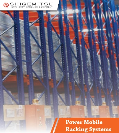 jual Power Mobile Racking Systems
