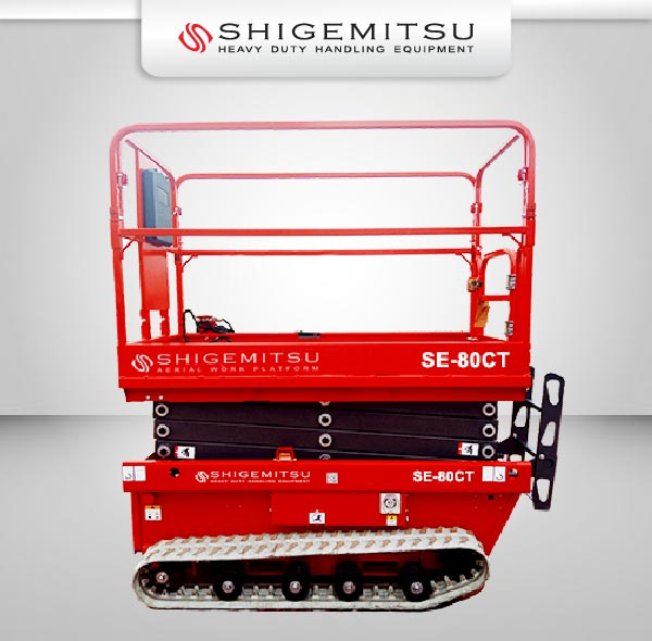 Jual Electric Self Propelled Scissor Lift