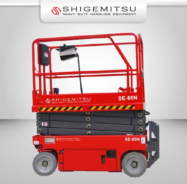 Jual Tangga Elektrik, Electric Self Propelled Scissor Lift, Jual Aerial Work Platform